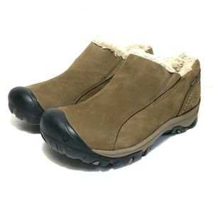 Keen Bailey insulated slip on shoes nubuck 7